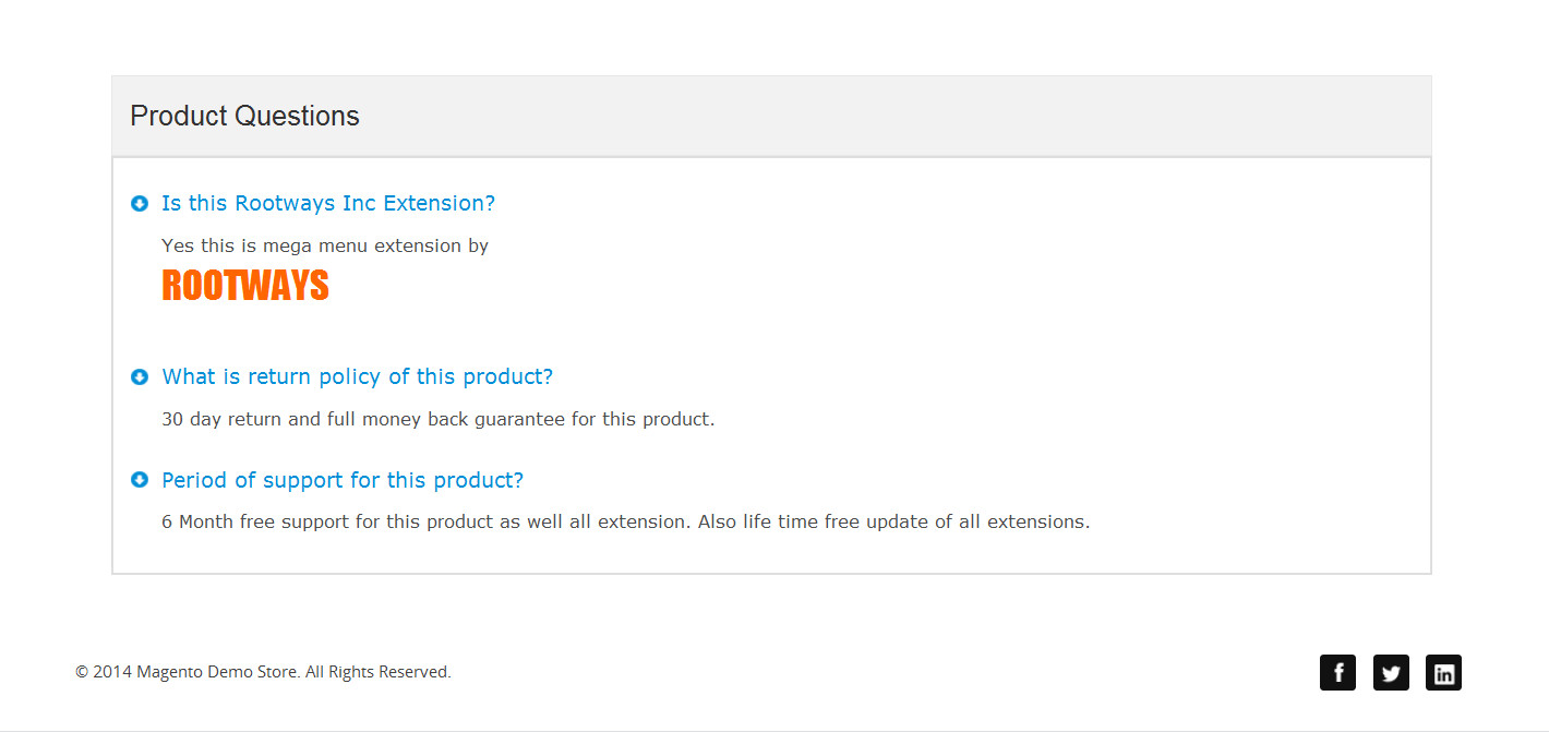 Product faq front end image