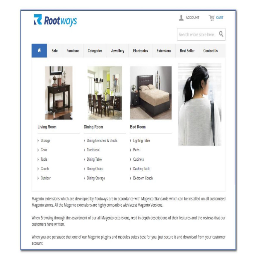Responsive Tablet Layout image
